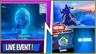 *NEW* Fortnite: MASSIVE LIVE EVENT ICE STORM COMING SOON..! (Leaked Sounds & Full Explanation)
