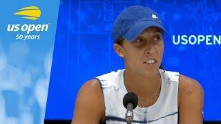 2018 US Open Press Conference: Madison Keys