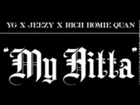 YG - My Hitta ft. Yeezy and Rich Homie Quan (Clean)]