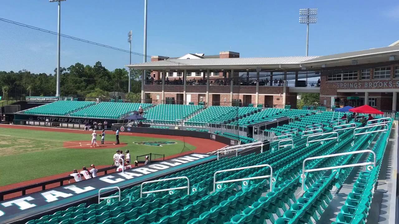 Coastal Carolina Baseball Stadium Youtube