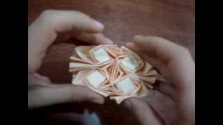 Origami Easy Flasher Tessellation Demo Thumbnail