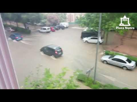Lluvias torrenciales en la Ribera