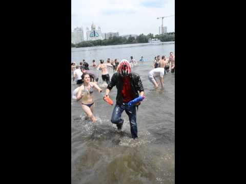 Water Battle in Kyiv 21.06.2015 - 3