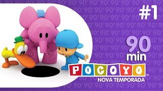Pocoyo | NOVA TEMPORADA (4) |90 minutos com Pocoyo! [1]