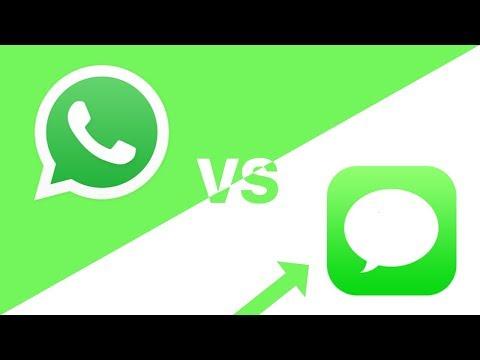 IMessage Vs WhatsApp (IT'S OBVIOUS)