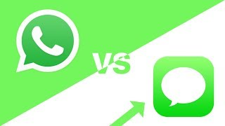 iMessage vs WhatsApp (IT'S OBVIOUS)