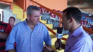 Atlético: Diretor de Futebol Adson Batista ressalta parceria com a Caixa Econômica Federal