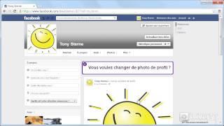 Comment ajouter une photo de profil avec Facebook ?