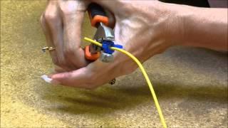 T-відгалужувач для швидкого з'єднання слайд ''натиснувши'' в існуючий провід або ланцюг - WiringProducts