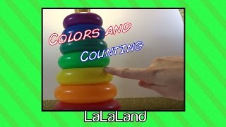 Colors and counting Preschool learning