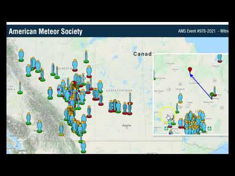 Over 400 Reports of Bright Fireball Meteorite Seen Over Canada, Montana