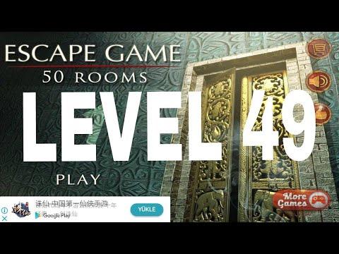 Escape Game 50 Rooms 1 Level 49 Walkthrough Youtube