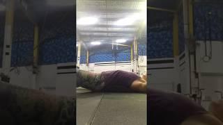 Ab mat sit-up breathing