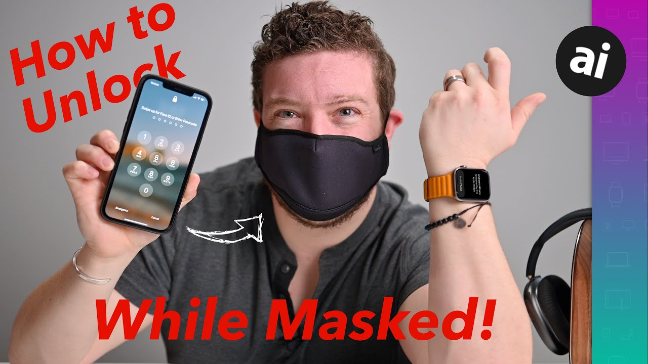 How to unlock your iPhone while wearing a mask