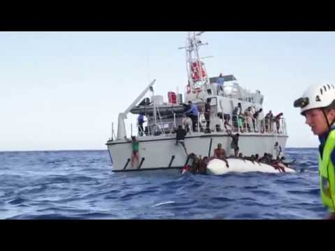 African migrants died at the Libyan coast