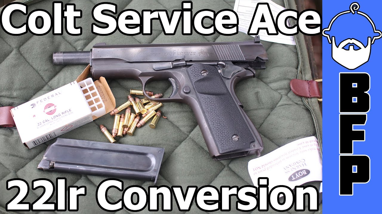 Colt Ace 22lr 1911 Conversion