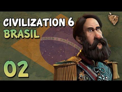 "Civilization 6 Brasil #02 ""Vizinhos próximos"" - Vamos Jogar Civ 6 Gameplay Português PTBR"