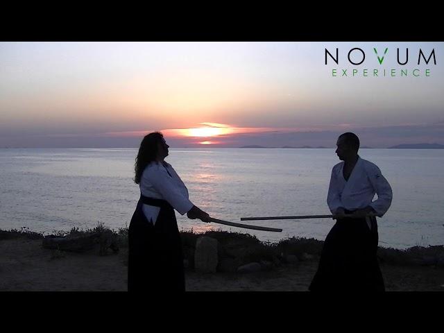 07 Ken tai jo shichi - Aikido Novum Experience -合氣道 -武器技 -剣体杖七