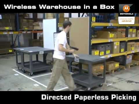 Systems Logic presents Wireless Warehouse in a Box WMS