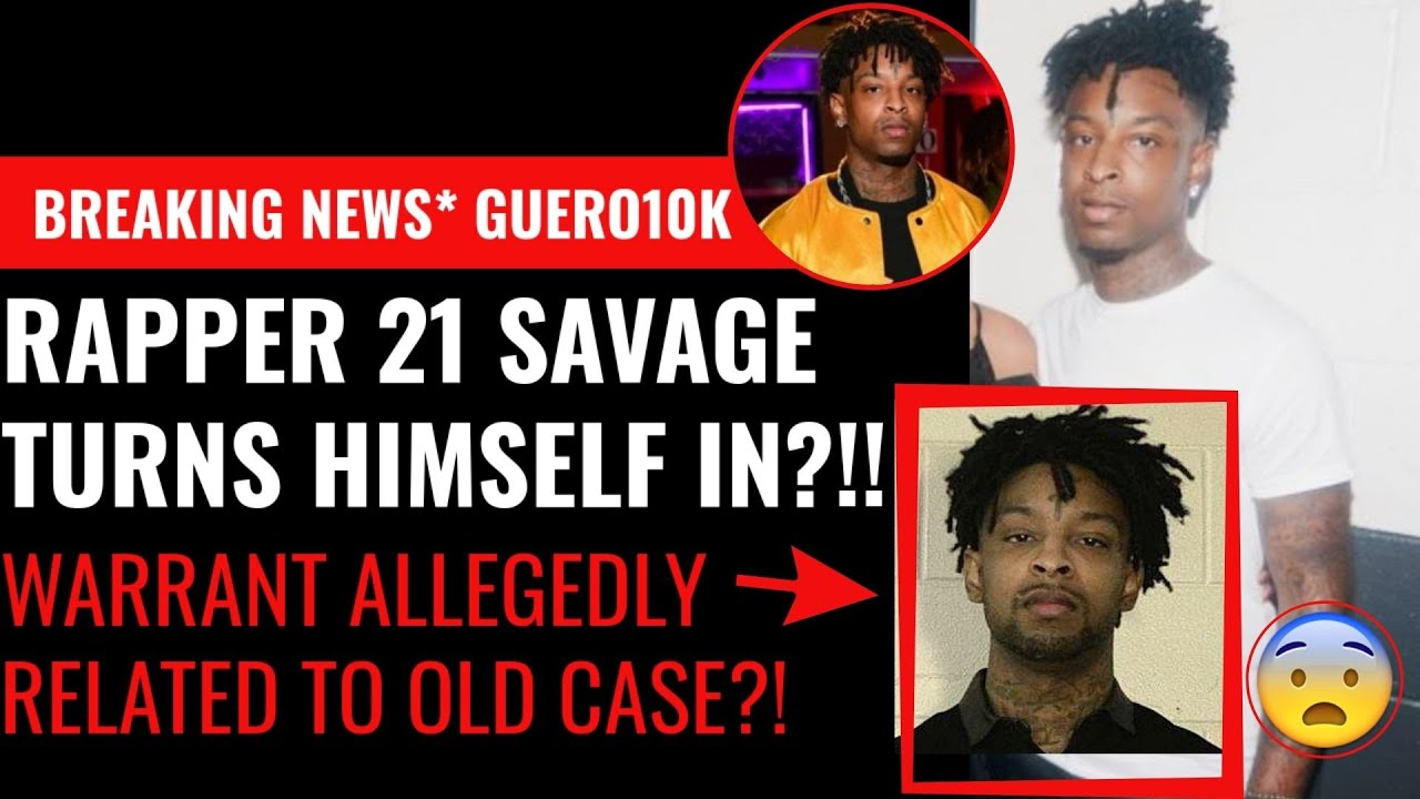 21 Savage Hit With Gun And Drug Possession Charges Stemming ...