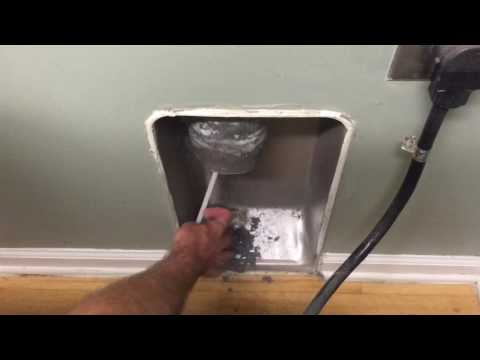 DIY fix clogged dryer vent
