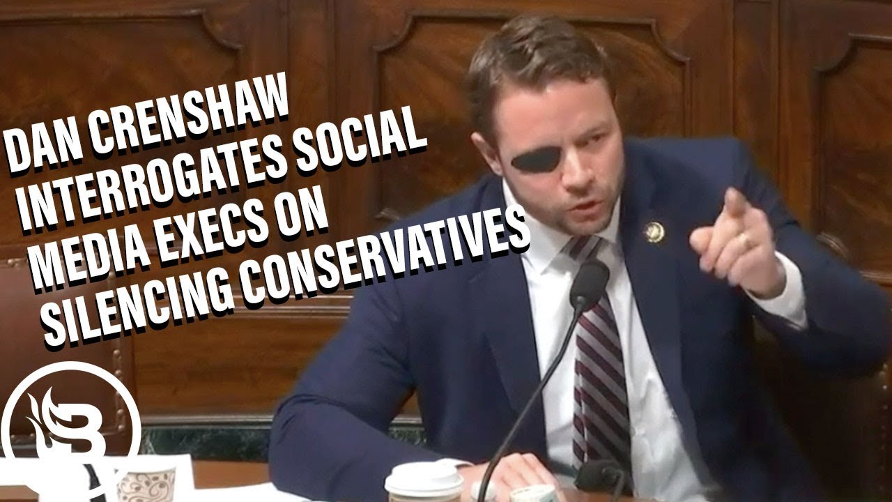 WATCH: Dan Crenshaw Slams Democrats For Calling Everyone On The Right A 'Nazi'