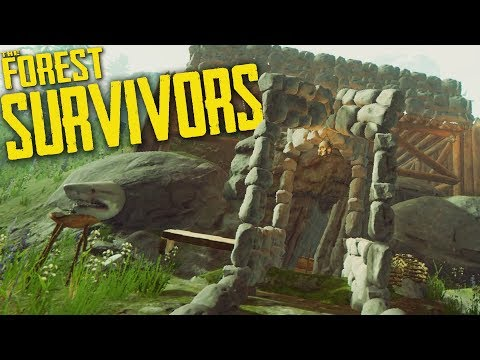 The Forest | Survivors Part 4 | MOVING OUT!!