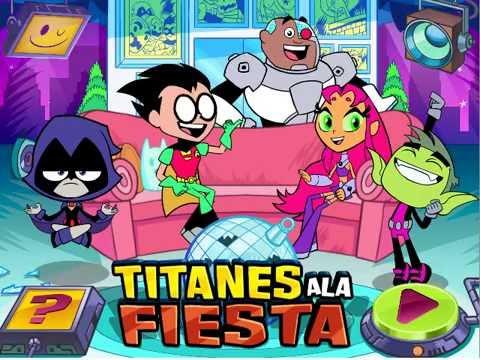 Juego De Los Jovenes Titanes En Accion Titanes A La Fiesta Youtube