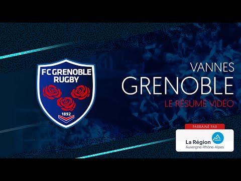 Vannes - Grenoble : le résumé vidéo