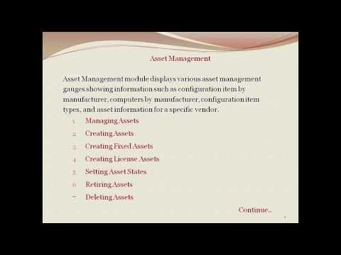 Asset Management  Servicenow