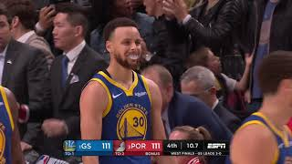 Golden State Warriors vs Portland Trail Blazers : May 20, 2019
