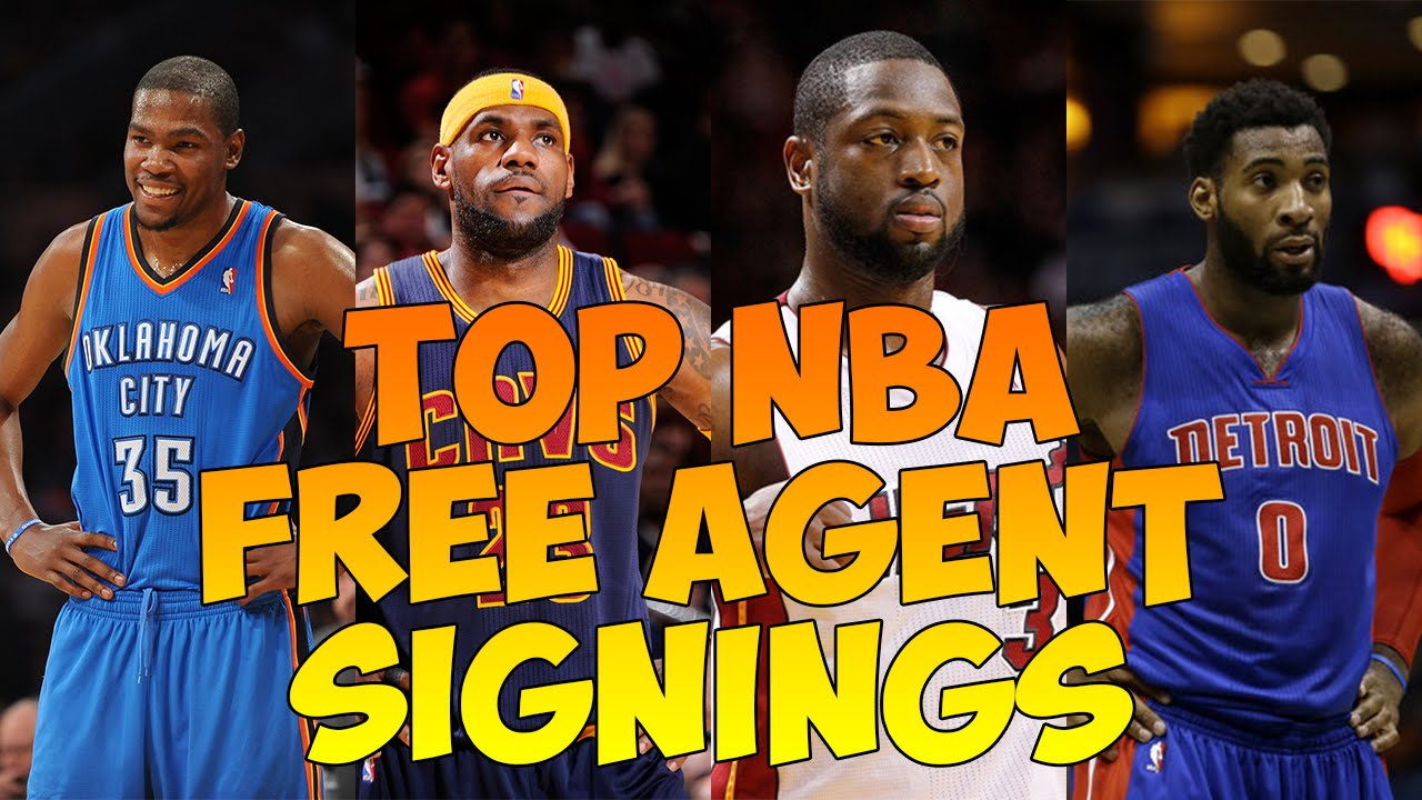 Top NBA Free Agents Signings 2016 / Top NBA Free Agents ...