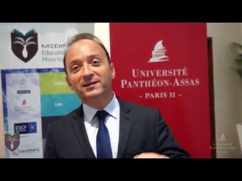 Launch of Université Panthéon-Assas (Paris II) in Mauritius