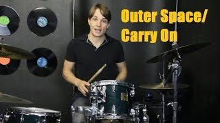 Outer Space/Carry On Drum Tutorial - 5 Days of 5SOS Day 5