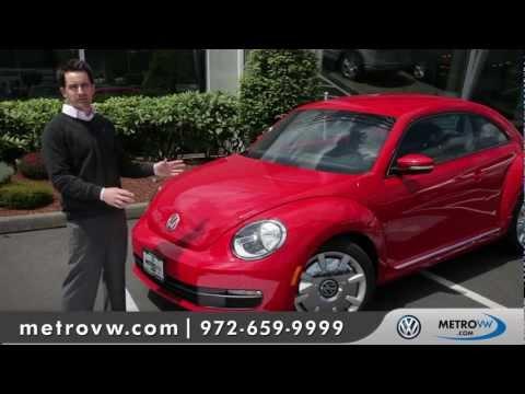 2012 Volkswagen Beetle Walk-around | Metro VW - Dallas Volkswagen dealer