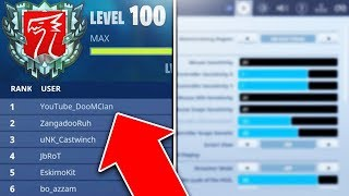 the #1 Console Player shares SECRET Settings on Fortnite! (Fortnite BEST Console Settings)