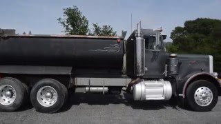 1979 Pete 359 Dump Truck with Trailer/ Charter Sales - U10314