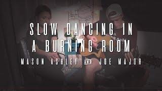John Mayer - Slow Dancing in a Burning Room (piano cover by Mason Ashley and Joe Major)