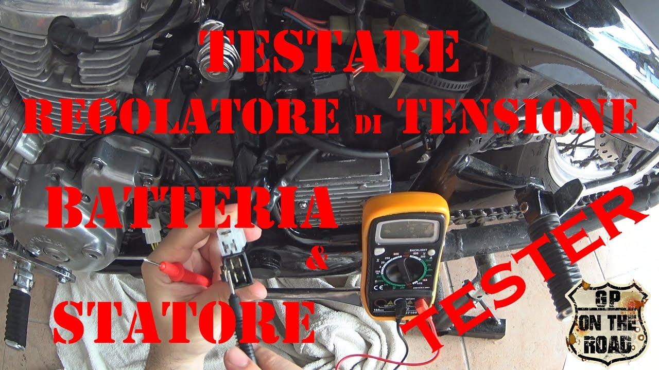 Schema Elettrico Regolatore Di Tensione Ducati : Regolatore di tensione batteria e statore col tester gp on the