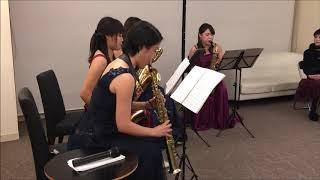 演奏者 Parero Saxophone Quartet 横山美優(ソプラノサックス)・田中...