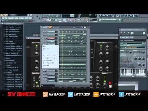 """Beat Making Of """"Lex Luger Type Beat"""" By Jay Stacks"""