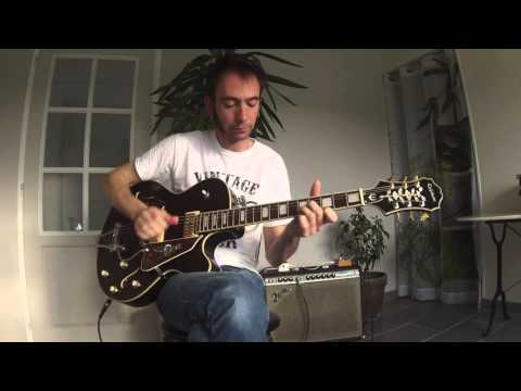 Mr Sandman Chet Atkins cover, reprise (Damien Pineau)