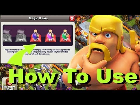 How to use magic spells in Clash of clan | After sell Spell How many gems you received.. hindi
