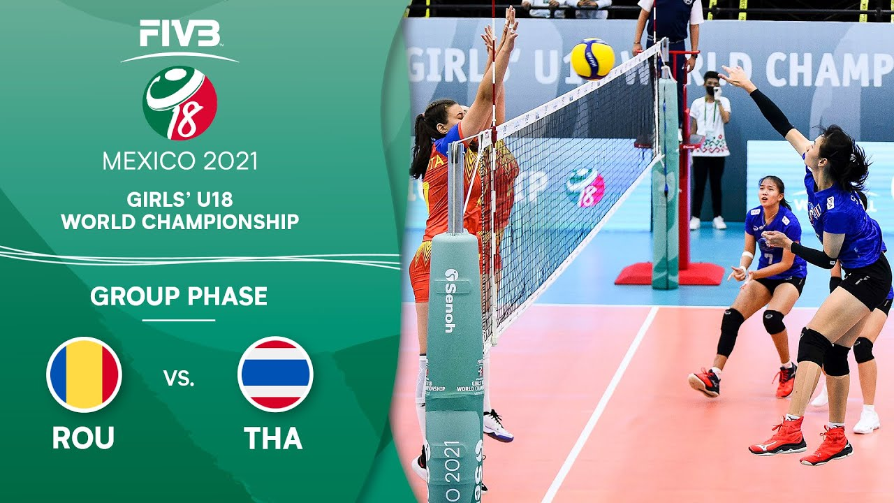 Download ROU vs. THA - Group Phase | Girls U18 Volleyball World Champs 2021
