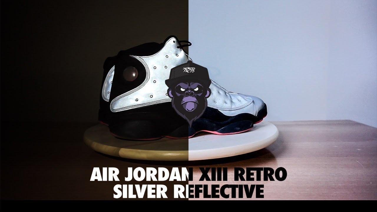 deb804792cbd0f Sneakers Facts  REVIEW - Air Jordan 13 Retro - Silver Reflective ...