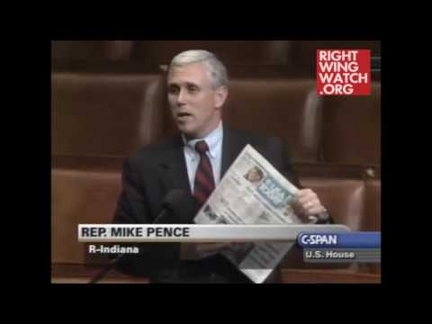 "Mike Pence: ""Evolution is being taught as fact, Mr Speaker! It's just a theory. I believe that someday scientists will come to see that only creation by God makes sense"" [Video] • r/SandersForPresident"
