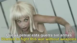 Sia -  Elastic Heart [Lyrics English - Subtitulado Español]