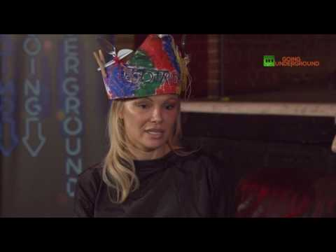 Pamela Anderson defends men falsely accused of rape and Julian Assange