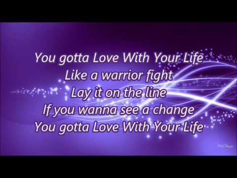 Love With Your Life Hollyn Lyrics