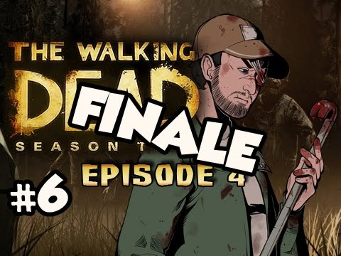 THE END RESULTS - The Walking Dead Season 2 Episode 4 AMID THE RUINS Walkthrough Ep.6